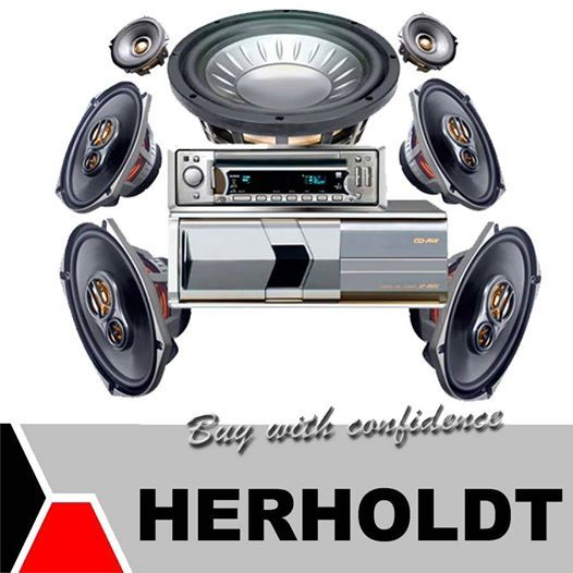 Pimp your car audio with favorite sounds with an audio system supplied and fitted by the Herholdt Group. We are stockists of a large variety of car audio equipment and accessories. Visit us in Middelburg and Graaf-Reinette. #carsound #audioequipment #lifestyle