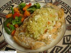 This is a copycat recipe I came up with for the stuffed salmon that is sold in warehouse chains such as Costco, BJs Warehouse and Sams Club.