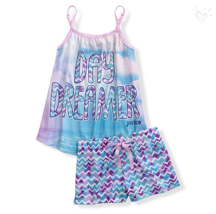 Day Dreamer Pajama Set | Justice
