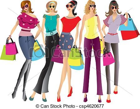 Fashion Girl Clipart Png