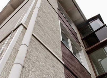 фасадные панели kmew http://kmew.sotdel.ru/ #Фасад #KMEW #sotdel (КМЮ) способен без ремонта прослужить более 50 лет что позволяет сэкономить большие суммы которые сегодня приходится тратить на ремонт домовых фасадов.  Фасадные панели KMEW выпускаемый на японских заводах более 40 лет представляет собой облицовочные фасадные панели. Этот высокотехнологичный негорючий строительный материал производится из фиброцемента и имеет разнообразные текстуру фактуру и глубину рельефа а также богатую…