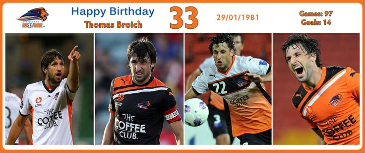 Graphic for Thomas Broich of Brisbane Roar. Good way to create content and share with fans of the player/club