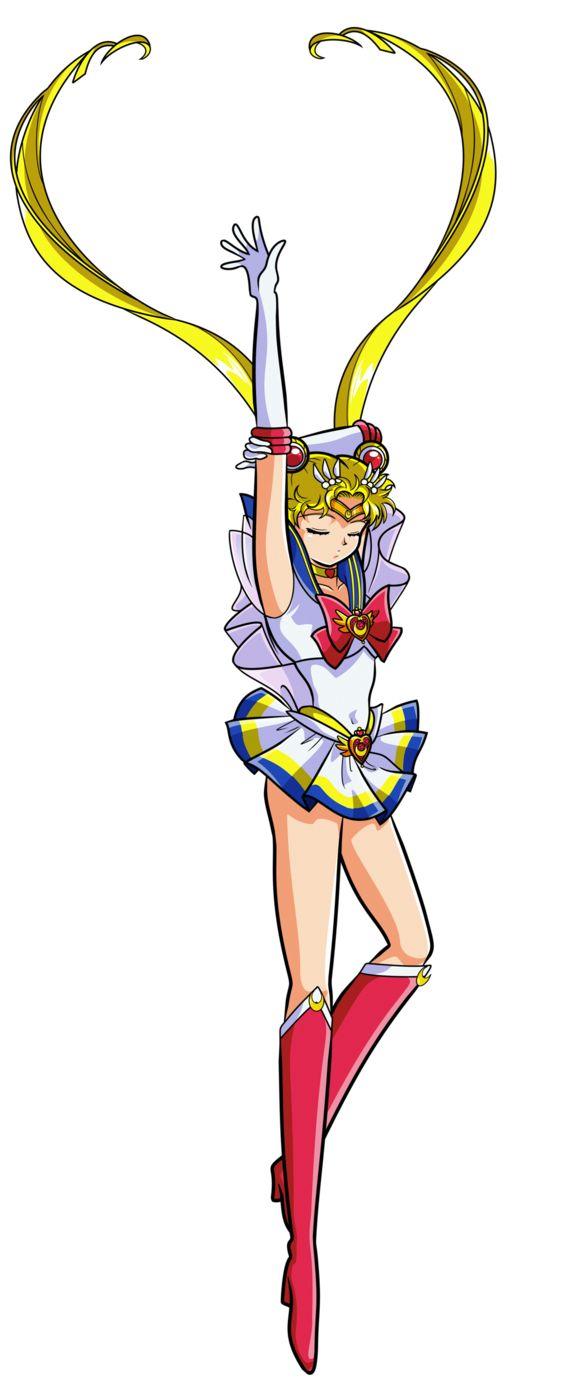 SAILOR MOON SUPER S - Super Sailor Moon (Make Up) by JackoWcastillo