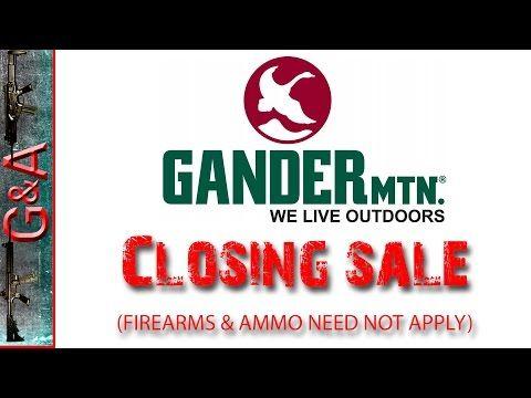 Gander Mountain Closing Sale