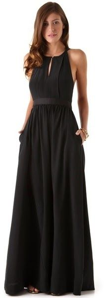 Juicy Couture | Black Easy Summer Maxi Dress