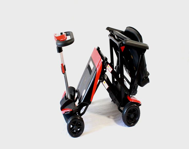 Transformer electric folding mobility scooter things to for Fold up scooters motorized