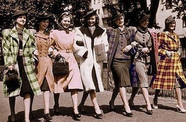 Мода 1940-х годов - Женское платье и женский стиль