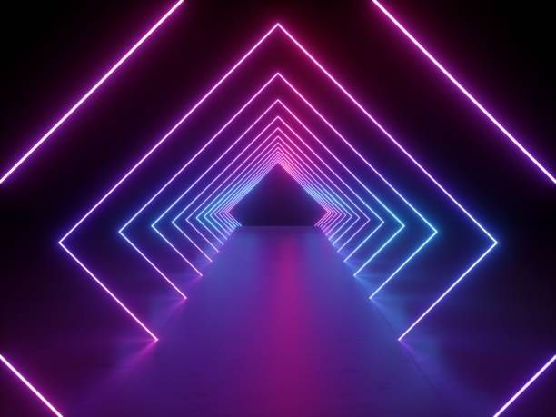 Royalty Free Pictures Images And Stock Photos Istock Neon Wallpaper Neon Light Wallpaper Abstract