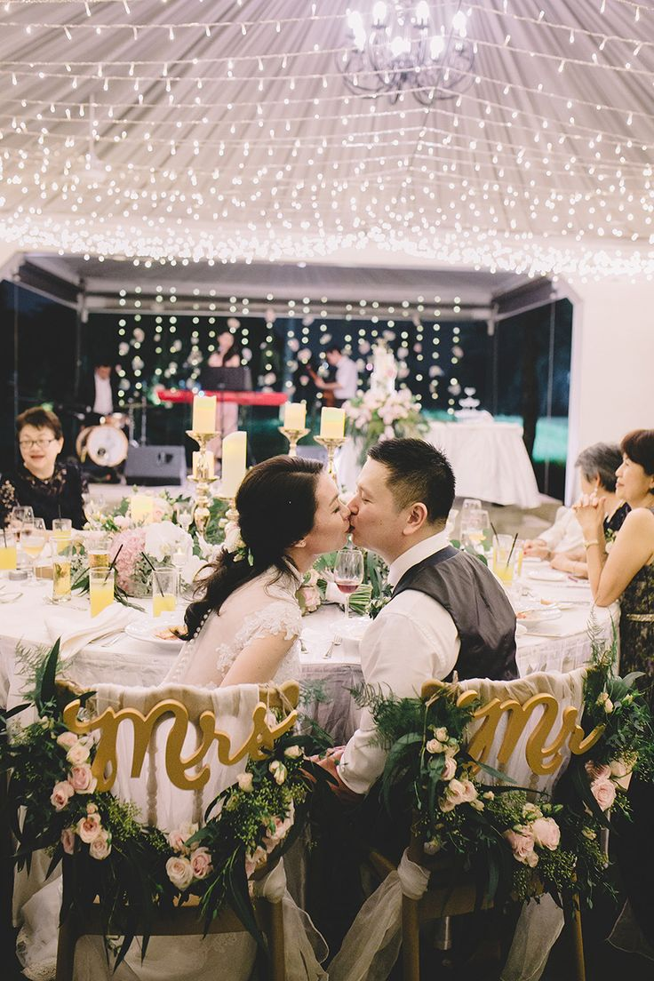 wedding reception photo booth singapore%0A Beautiful and romantic wedding fairy light lighting at Wei Liang and  Esther u    s rustic wedding