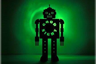 Robot Night-Night Light