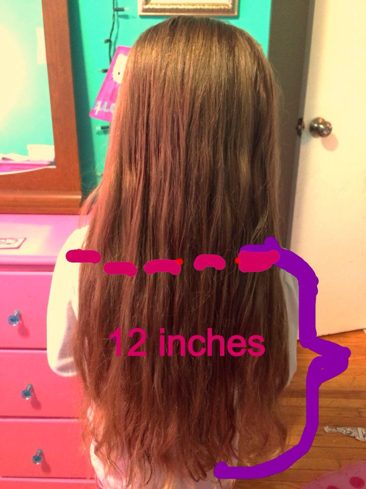 """My daughter is donating half her hair !!!! She is super excited to give her hair to kids who have none ! She is my inspiration at only 6 years old ! She's collecting pledges if you would like to help the cause go to hairdonationottawa.com click how to donate then click individual or team and type """"Brooklyn """" for first name and """" Fournier dupuis """" as last name !!! Thanks soooo much"""