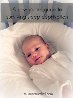 A new mum's (and dad's) guide to surviving sleep deprivation.