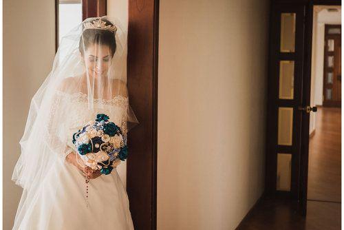 Novias - Brides - Wedding photographers- Fotografos de bodas  © Aica Films.