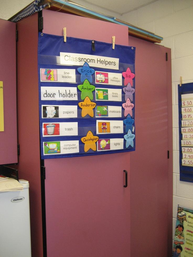 Classroom Ideas Charts ~ Best helper chart ideas on pinterest preschool