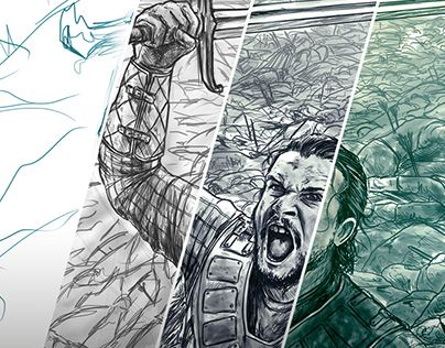 """Check out new work on my @Behance portfolio: """"Snow Rises In Winterfell -Game Of Thrones Fanart"""" http://be.net/gallery/50936797/Snow-Rises-In-Winterfell-Game-Of-Thrones-Fanart"""