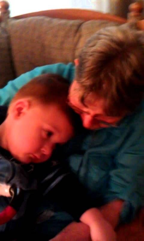 Teen pushing granny july 13