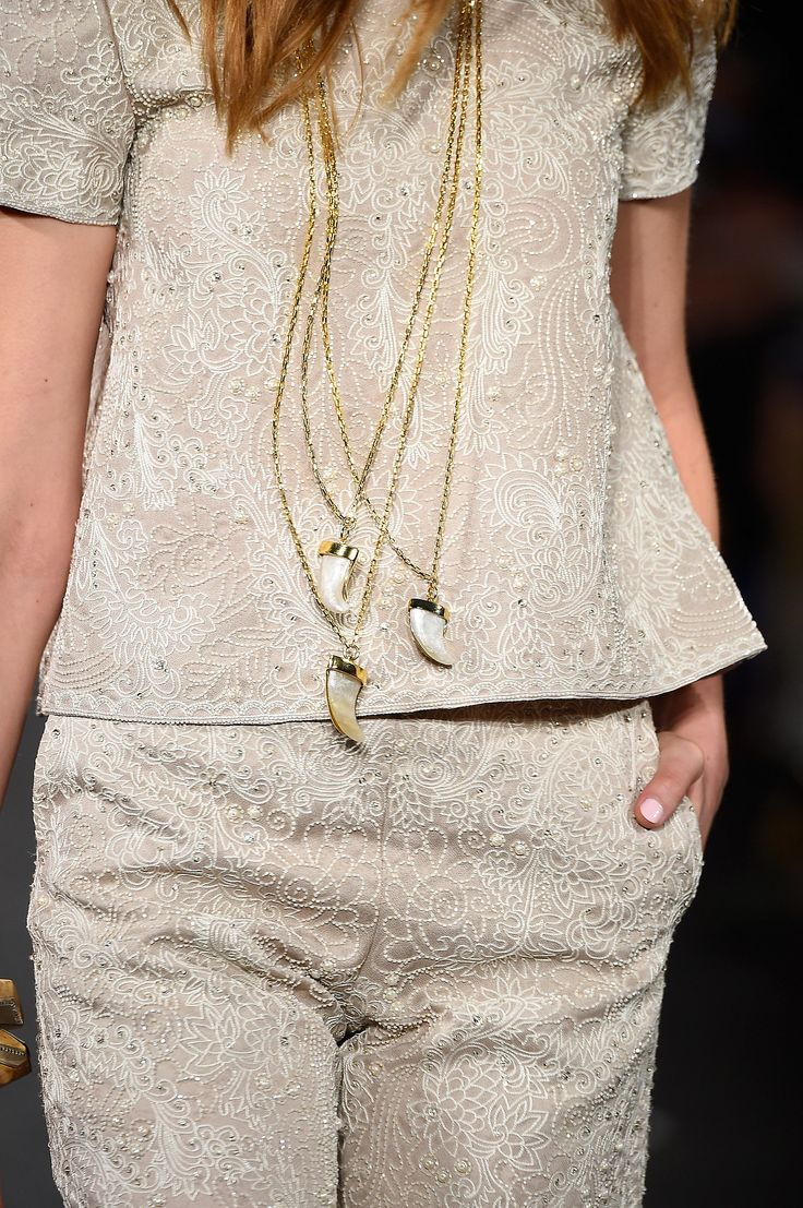 The Best Shoes, Bags, and Baubles on the 2015 Runways -- Naeem Khan Spring 2015