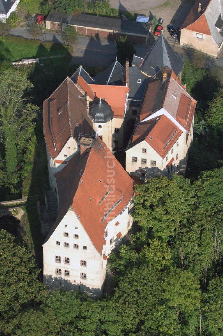 Luftbild Reinsberg Blick Auf Das Schloss Reinsberg In Der Gleichnamigen Gemeinde Im Landkreis Mittelsachsen Luftbild Bilder Rittergut