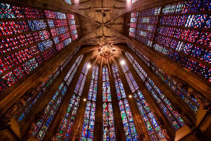 aachen cathedral windows