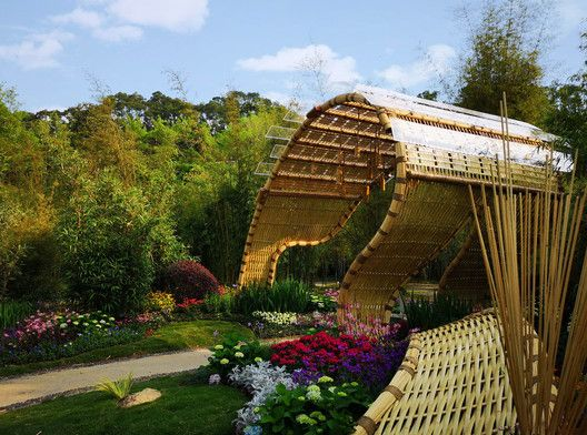 Bamboo Tide Pavilion / Shenzhen Beryl Environmental Art Design