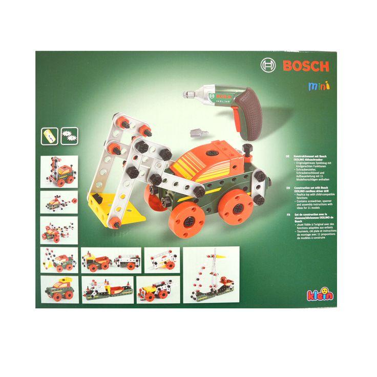 Klein Bosch mini építőkészlet elektromos csavarozóval | Pandatanoda.hu Játék webáruház