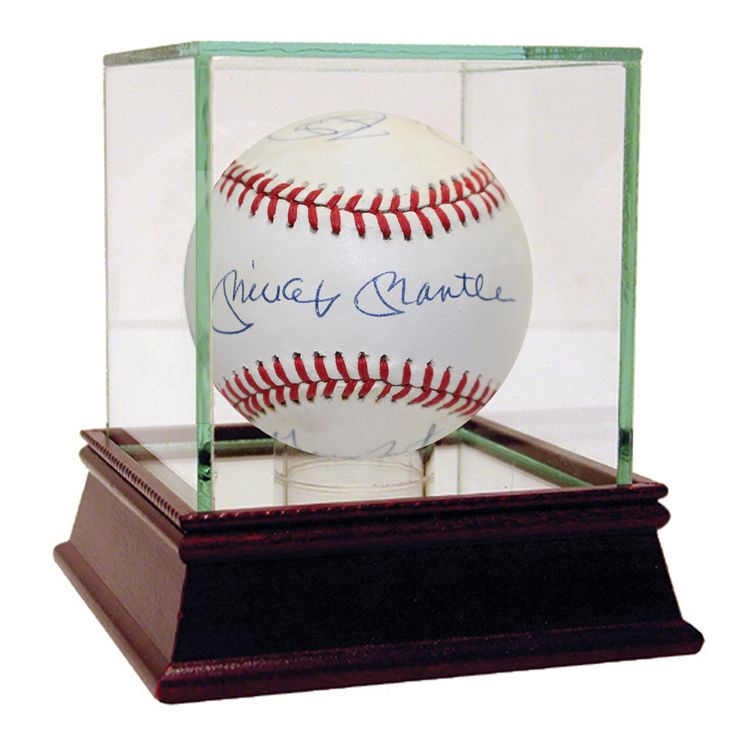 50 Home Run Club Baseball (Mickey Mantle, Willie Mays, George Foster, Johnny Mize, Cecil Fielder, Ralph Kiner)(PSA/DNA)