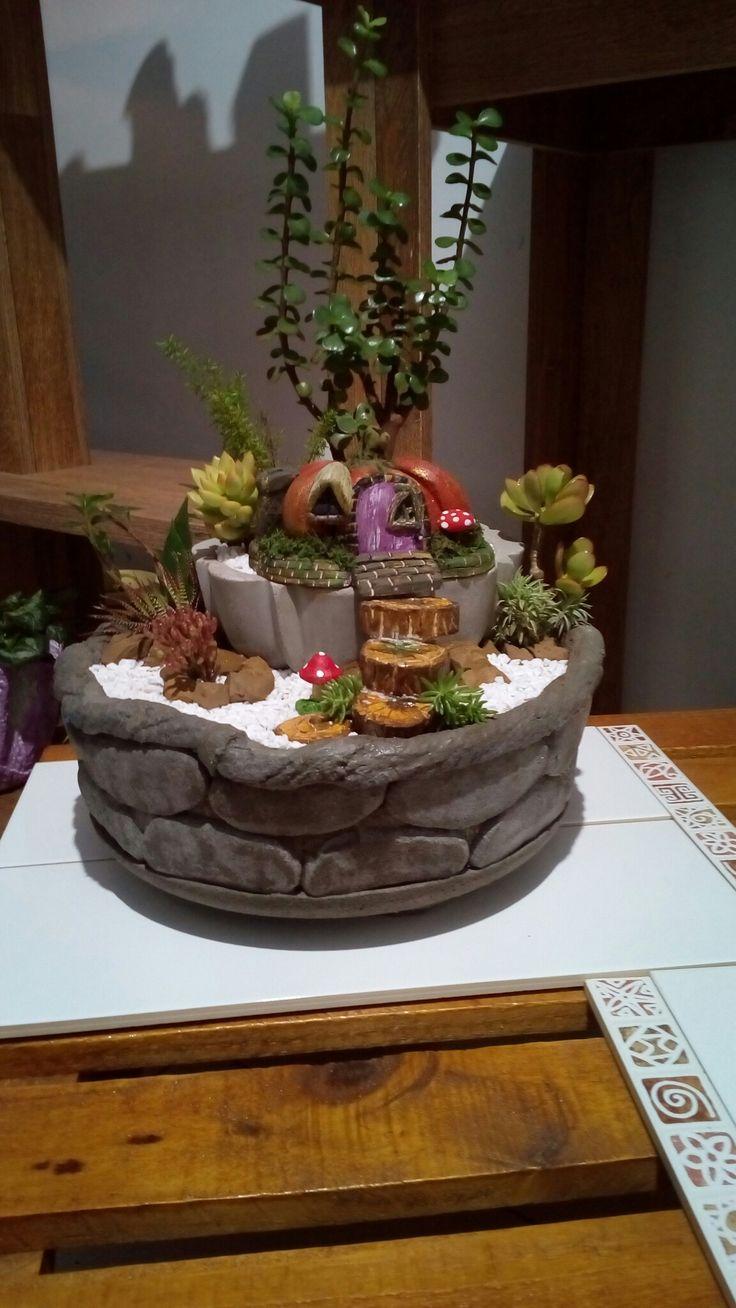 Mini-Jardin + Cimento