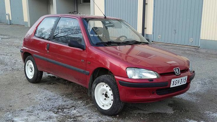 My Peugeot 106 XN with new summertime tires