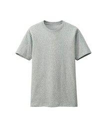 ユニクロ   MEN ドライカラークルーネックT(半袖)(Tシャツ・カットソー)