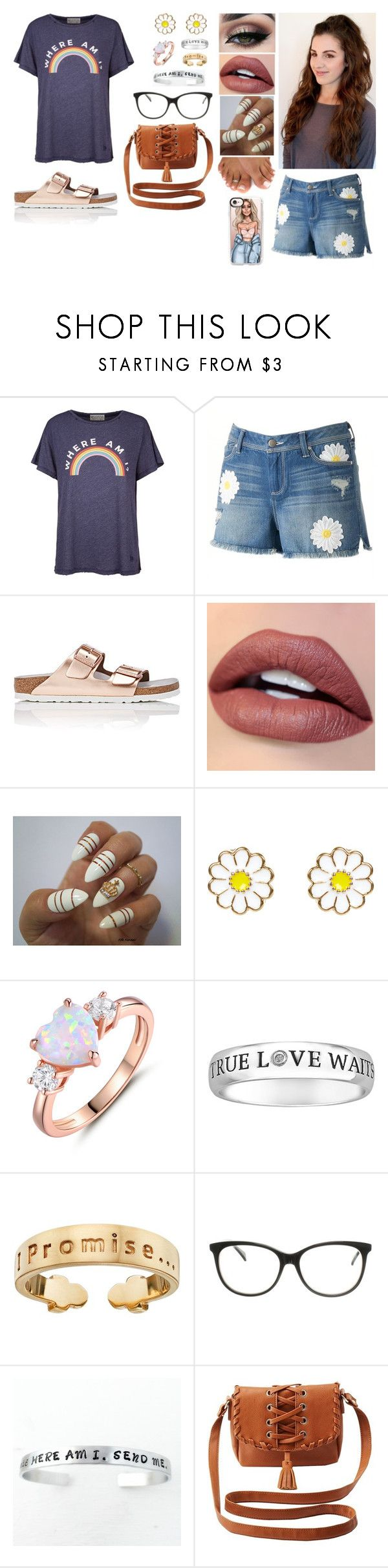 """""""Where Am I?"""" by divinemaboundou ❤ liked on Polyvore featuring Wildfox, LC Lauren Conrad, Birkenstock, Tiger Mist, Monsoon, Peermont, I Promise by Karen R., Just Cavalli, Charlotte Russe and Casetify"""