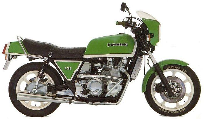 """Kawasaki Z1300 6-cylinder """"Dreadnaught"""" 1978"""