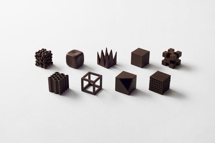 maison et objet designer of the year nendo unwraps chocolate lounge and nine unique candy pieces
