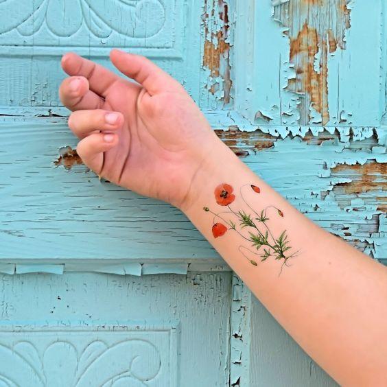 30 Catchy Poppy Tattoo Designs | Amazing Tattoo Ideas