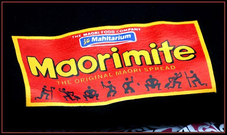 Maorimite T-Shirt design - kiwiana
