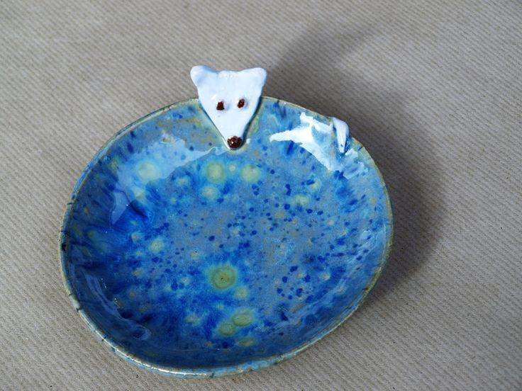 Näpfe & Unterlagen - Futternapf für Katzen - ein Designerstück von keramik-milada bei DaWanda
