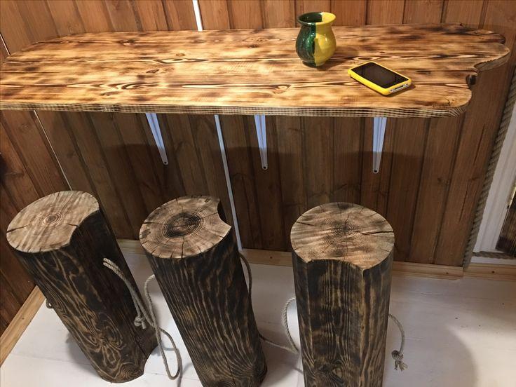 Мебель своими руками, пень, wood