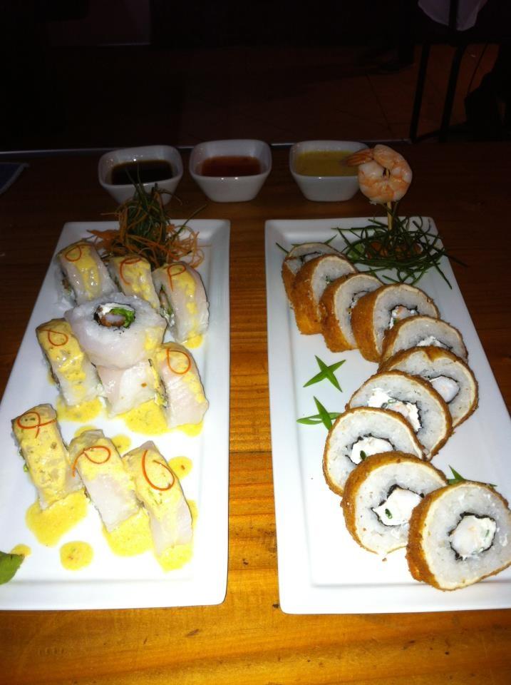 sushi en AKWA Restaurant Peruano Japones