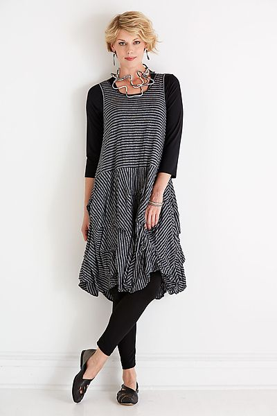 Isadora Dress by Comfy USA: Knit Dress available at www.artfulhome.com