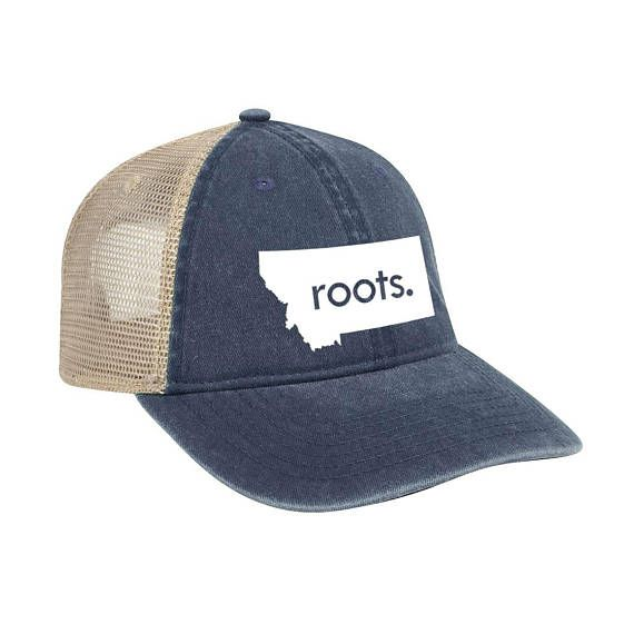 0c05d93af Montana 'Roots' Trucker Hat - Vintage Look Pigment Dyed Cotton Twill ...