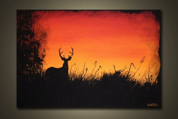 Morning Trophy 3 ft. x 2 ft 36 x 24 total by ReitenourPaintings, $89.99