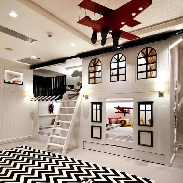 15 Inspiring Designs For Unbelievable Kid Spaces Awesome Bedrooms Cool Kids Bedroom