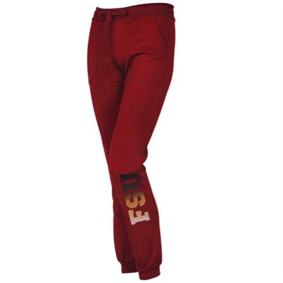 Florida State Seminoles (FSU) Women's Name Fade Lounge Pants - Garnet