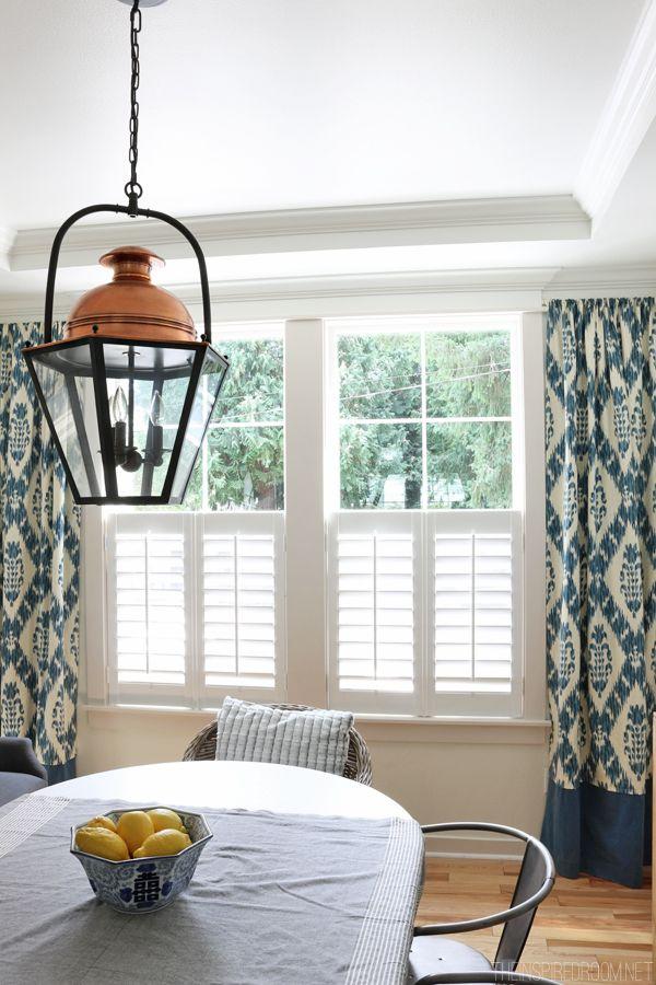 50 best plantation shutters images on pinterest for Should plantation shutters match trim
