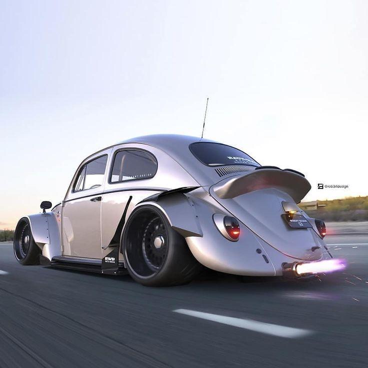 "Best Tuner Cars >> Robert Design on Instagram: ""Vw Fusca/Beetle - RWB 🇯🇵 Wide ..."