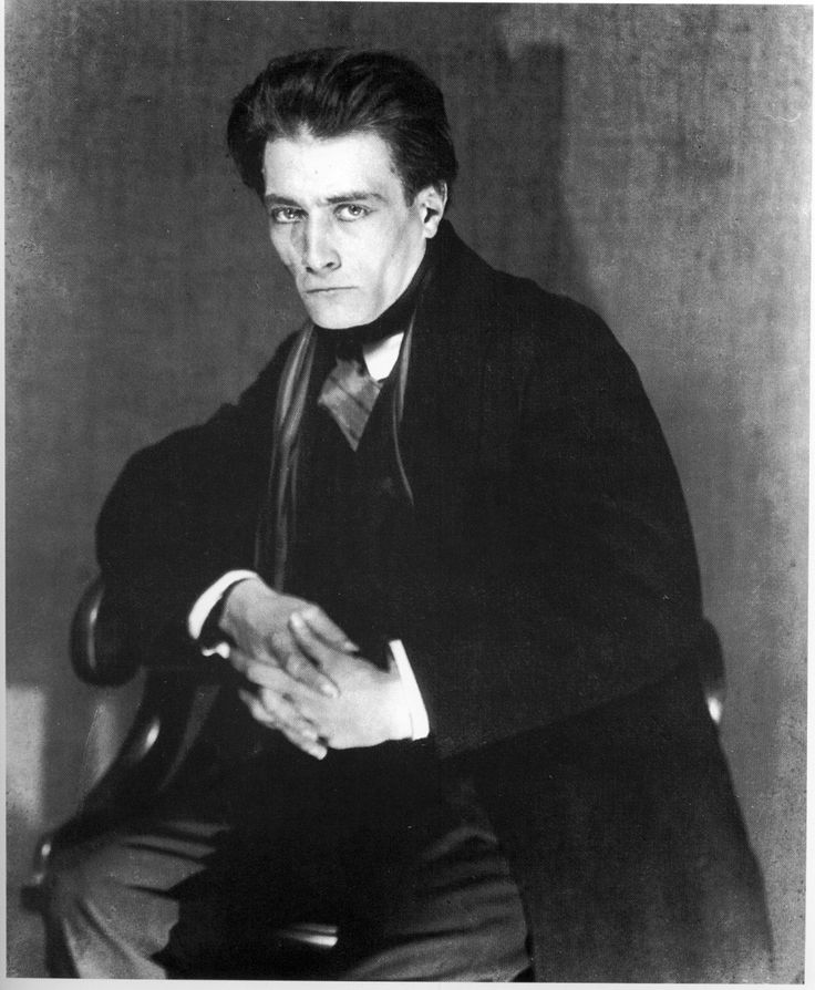 Antonin Artaud, French playwright, actor and theorist of the theatre: (September 4, 1896 – 1948) - one of the great creative madmen of the 20th C.  Photo: Man Ray, 1926
