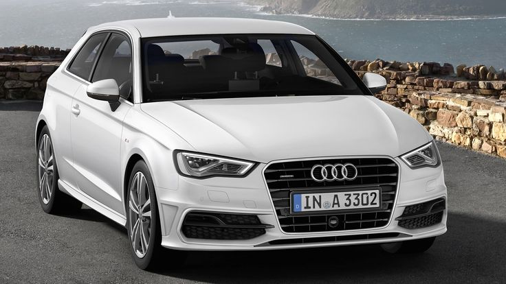 audi a3 s line quattro in white on hd wallpapers from. Black Bedroom Furniture Sets. Home Design Ideas