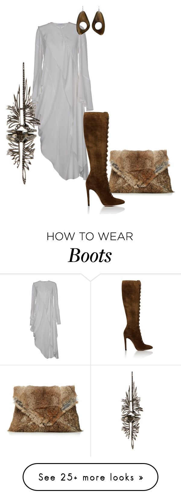 """Untitled #504"" by amy-hille on Polyvore featuring Marni, Givenchy, Gianvito Rossi and Cristina Ortiz"