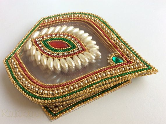 Traditional Bridal colors Five petals Matka shapes by Kalakruti