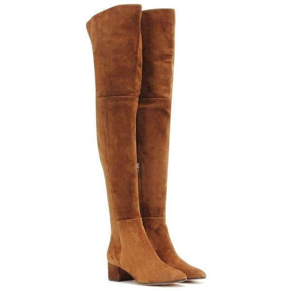 25 best ideas about brown thigh high boots on