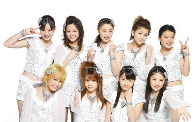 Morning Musume promotional picture for 『Only you』 (MV)